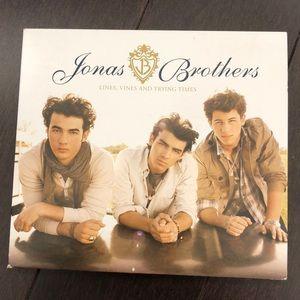 FREE W PURCHASE Jonas Brothers CD